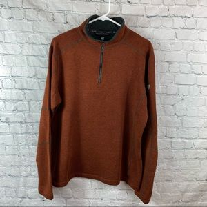 Kuhl Revel Men's Fleece 1/4 Zip Sweater Jacket